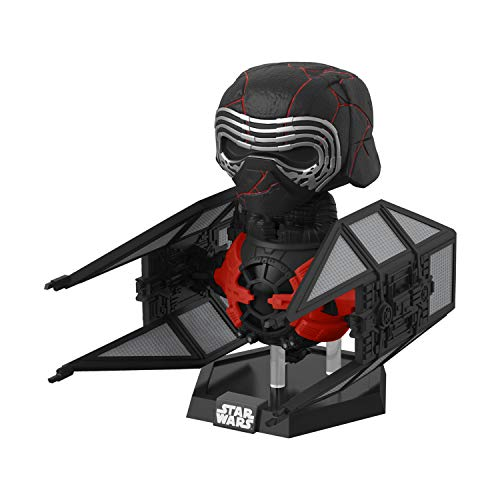 Funko- Pop Deluxe: Star Wars The Rise of Skywalker-Supreme Leader Kylo REN Disney Figura Coleccionable, Multicolor (39914)