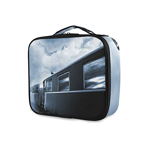 Portable Voyage Trousse De Toilette Outils Cosmétique Train Case Mort Train De Stockage Beauté Maquillage Sac