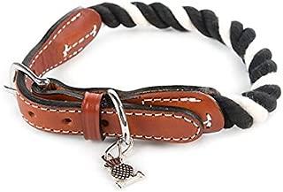 MacKenzie-Childs Courtly Twist Pet Collar - Band for Dog - Cotton - Pet Accessories - Medium- 18