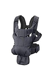 Excellent comfort with built-in back support and waist belt Easy to put on and take off Soft and airy design in cool 3d mesh Carry facing in or facing out on your front Easy to lift out your sleeping baby