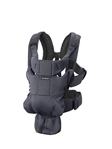 BABYBJORN Baby Carrier Free, 3D Mesh, Anthracite