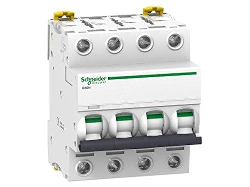 Schneider Electric A9F79432 Interruptor Automático Magnetotérmico Ic60N, 4P, 32A, Curva C