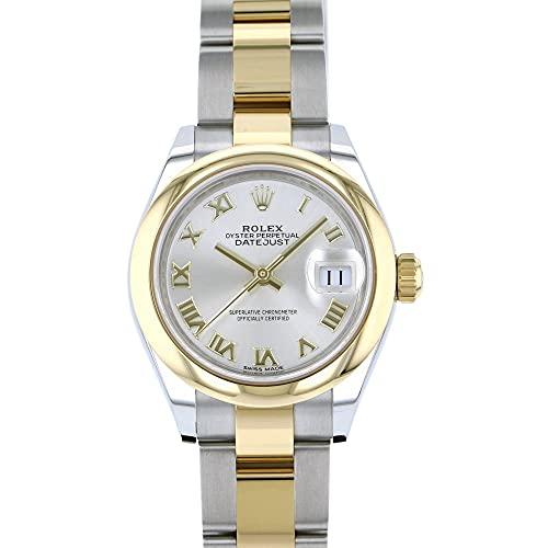 ロレックス ROLEX デイトジャスト 28 279163 シルバーローマ文字盤 腕時計 レディース (W186490) [並行輸入品]