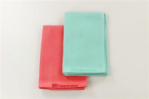 Tupperware, FaserPro 31060, panno in microfibra, colore rosso/turchese