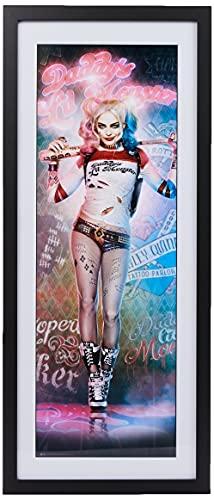GB Eye LTD, Suicide Squad, Harley Quinn Stand, Fotografía enmarcada 30x75 cm