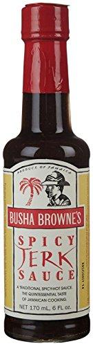Busha Browne Spicy Jerk Sauce, 5 oz