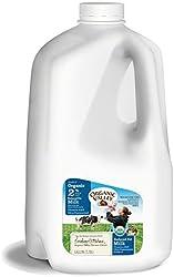 Organic Valley Ultra Pasteurized Reduced Fat 2% Organic Milk, Gallon, 128 fl oz