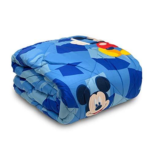 NADA Home 3630 Steppdecke Disney Mickey Mouse Winter Einzelbett