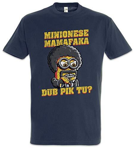 Urban Backwoods Jules Mamafaka Camiseta De Hombre T-Shirt Azul Talla 3XL