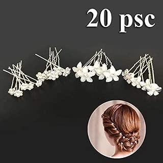 Homyl 1 Paire De Mini Baroque Style Fleur Filles Strass Couronne Cheveux Accessoires