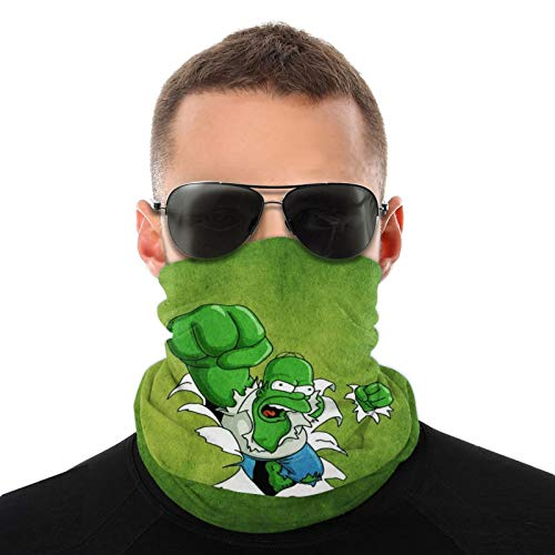 Polainas de cuello de Hulk, unisex, variedad de bufandas, bufandas para la cabeza, bufandas para el sudor