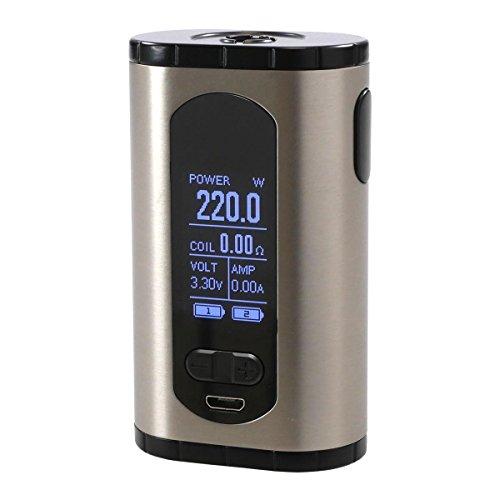 Eleaf Invoke Box MOD - Cigarrillo electrónico (220 W), color plateado