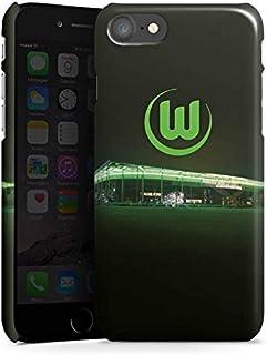 DeinDesign Premium Case kompatibel mit Apple iPhone 8 Smartphone Handyhülle Hülle glänzend Offizielles Lizenzprodukt VFL Wolfsburg Stadion