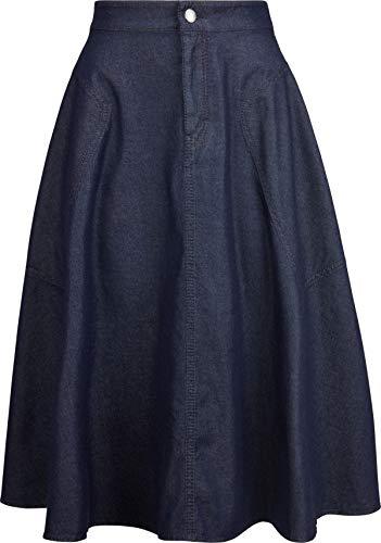 Drykorn Damen Jeans-Rock in Dunkelblau 26