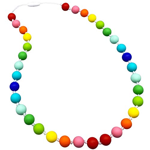 Buy Cheap Sensory Chew Necklace for Kids, Girls - Oral Sensory Chew Toys Teether Necklace Chewing Ne...