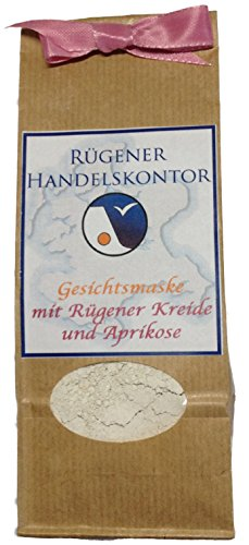 Handgemachte Gesichtsmaske mit Rügener Heilkreide und Aprikose
