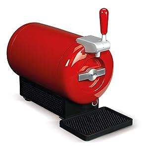Beerwulf THE SUB Rouge Edition | Tirador de cerveza de barril 2L, color rojo