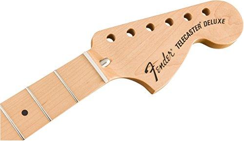Fender™ Classic Series \'72TELECASTER DELUXE Hals, 3-Schrauben Befestigung, 21Vintage Style Bünde, Maple (Ahorn)Griffbrett