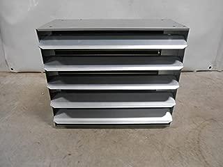 150,000 BTU Hydronic Hot Water Hanging Unit Heater - Single Speed Fan
