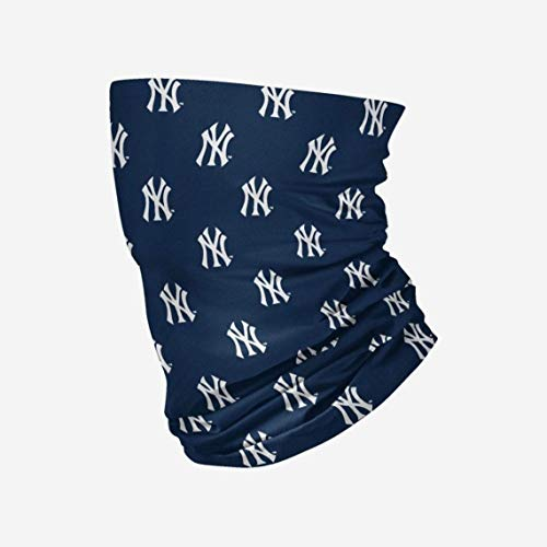 47 MLB Team Color Confetti Face Covering Gaiter, Adult (New York Yankees Navy)
