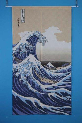 『narumikk のれん 白波 14-214』の5枚目の画像