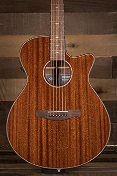 Ibanez AEG62 6-String Acoustic-Electric Guitar  Right Hand Natural Mahogany High Gloss