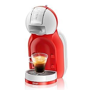 De'Longhi Dolce Gusto Mini Me EDG305.WR - Cafetera de cápsulas, 15 bares de presión, color blanco y rojo