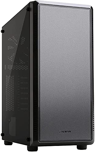 Zalman S4 ATX Mid Tower Gaming PC Case,2 (Two) x 120mm Pre- Installed Fans,...