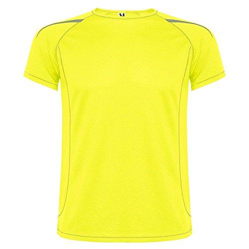 ROLY Camiseta técnica de Hombre, Sepang, Lime (S)