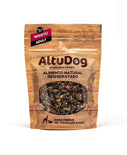 AltuDog Alimento Natural deshidratado Wagyu Adult 250g Comida Natural para Perros