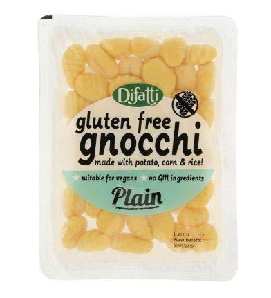 NT# Difatti Gnocchi sin gluten liso, 250 g, sin gluten Gnocchi son deliciosas albóndigas italianas, que están cuidadosamente hechas en la región del sur de Italia