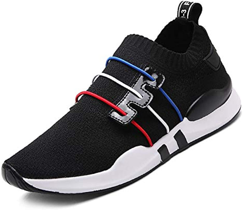 Women's shoes Mesh Elastic Fabric Summer Comfort Sneakers Flat Heel White Black   Red