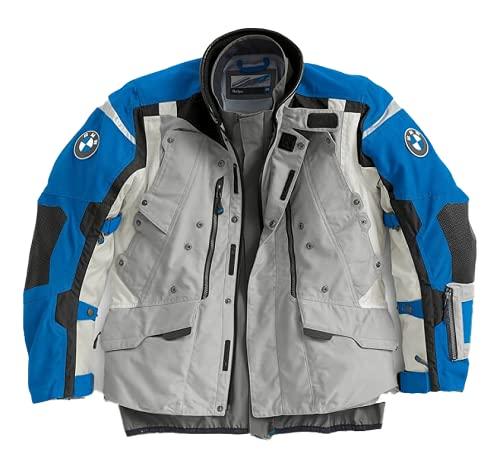 Motorrad Rallye Gray/Blue Jacket Men's Motorcycle/Motorbike RIDE (EU 50)