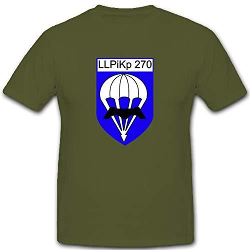 LLPiKp 270 Luftlandepionierkompanie 270 Seedorf Bundeswehr BW - T Shirt #1668, Farbe:Oliv, Größe:XXL