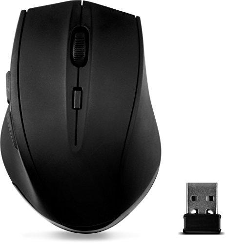 Speedlink CALADO Silent & Antibacterial Mouse - Kabellose und lautlose Maus - schwarz