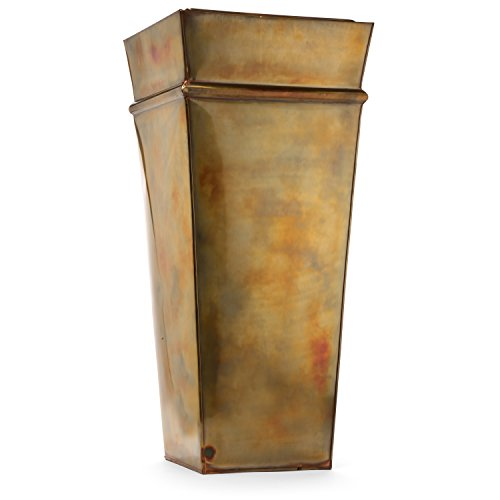 H Potter Tall Planter Outdoor Large Copper Flower Pots...