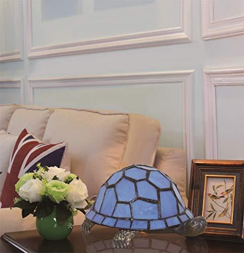 Europäische Kreative Bunte Schildkröte Schildkröte Hahnrei Tischlampe Kinderlampe Nachtlicht - Blau