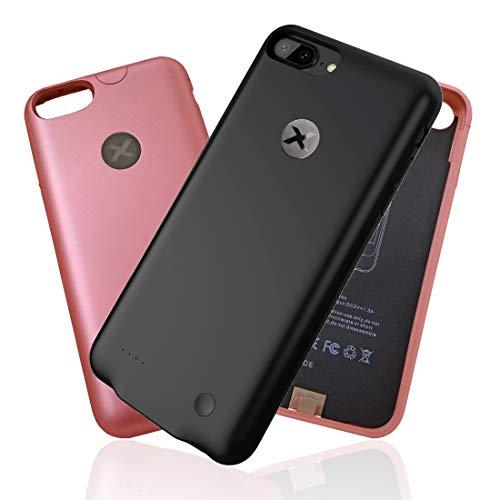 ULTRA SLIM Battery COVER per iPhone 6 6s 7 e PLUS | BAXET Custodia con Batteria | POWER BANK | COVER CARICABATTERIE | ultra sottile e leggera | fino a 26h conversazione e 22h internet in più