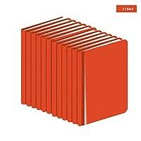 AdirPro プロフェッショナルエンジニアフィールド測量帳 標準サイズ - エンジニアリング計算 - グリッドペーパーノートブック - 科学ノート - グラフ用紙4 x 7 ¼インチ (12冊)