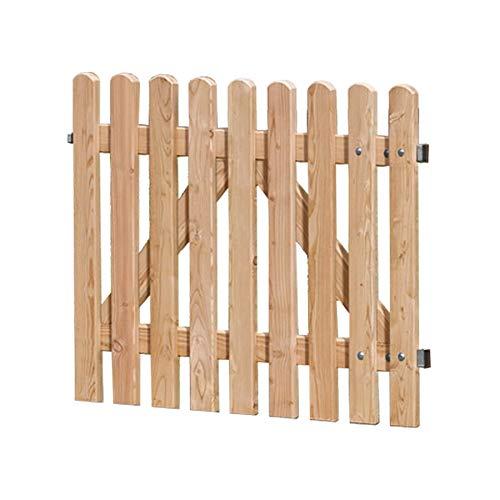 Weidenprofi Gartentor aus Lärchenholz, Staketentor passend zum Gartenzaun: (BxH) 100 x 80 cm