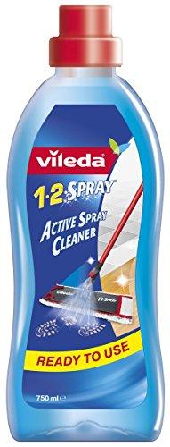 Vileda -Solution Nettoyante pour Balai 1.2.Spray - 750 ml