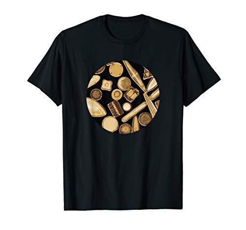 Kieselalgen-Einzelzellorganismus-Mikroskop Bakterien T-Shirt