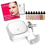 Aeroblend Airbrush Makeup Personal Starter Kit - Professional Cosmetic Airbrush Makeup System - LIGHT Foundation