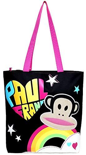 Tote Bag - Paul Frank - Black Rainb…
