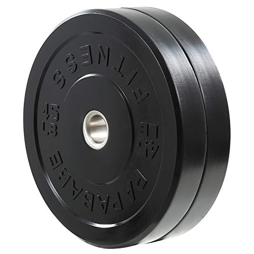 papababe Bumper Plates 2 inch Bumpers Pair Olympic Weight Plate