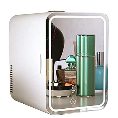 Mxsnow Refrigerador De Belleza Refrigerador De Almacenamiento De Cosméticos para El Cuidado De Maquillaje Portátil Regalos para Damas -Write