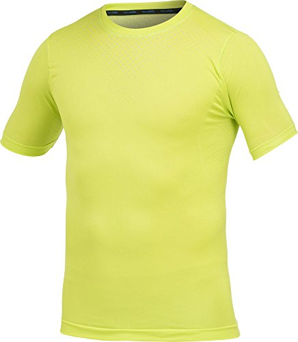 Craft Craft1h Stay Cool - Camiseta de Running para Hombre, Color Amarillo