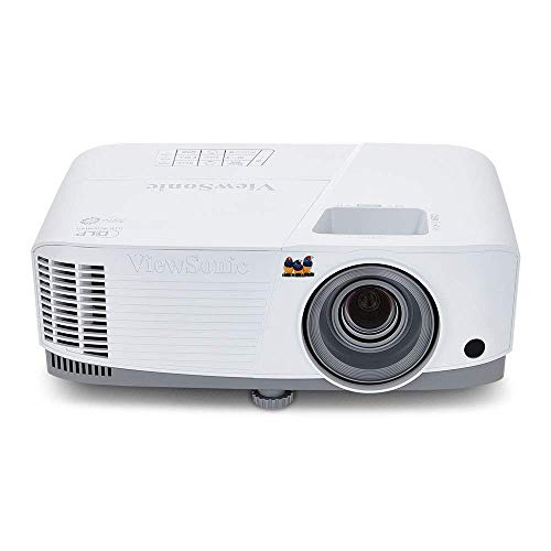 ViewSonic 3600 Lumens XGA High Brightness Projector Projector for Home and Office with HDMI Vertical Keystone and 1080p Support (PA503X) (Renewed)