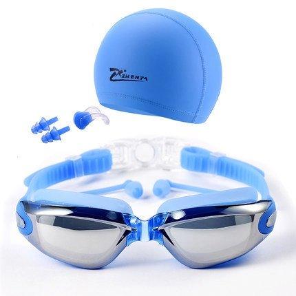 MISOL Swim Goggles, Occhialini da nuoto Professional Anti Fog No Leaking Protezione UV Wide View Swim Goggles For Women Men Adult Youth Kids