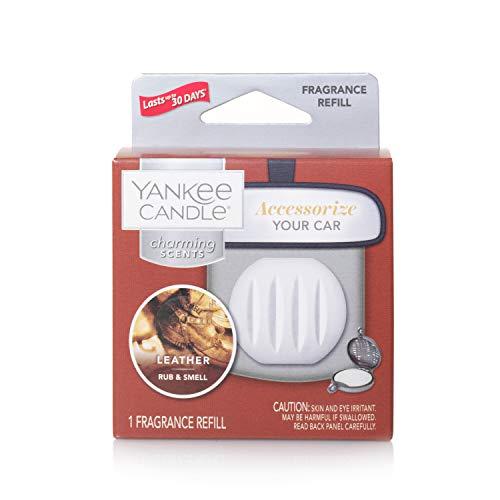 YANKEE CANDLE Leather Refill Charming scents profumatore per Auto, Multicolore, Unica